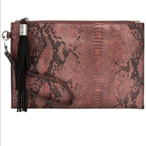 I.N.C. International Concepts Molyy Snake Pouch